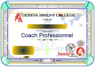 Formation de coach (Toute la PNL + le coaching de vie + Ho opono pono+ Latéral thinking + module psychologie créative) )