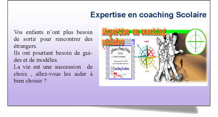 Formation et Expertise en Coaching Scolaire.